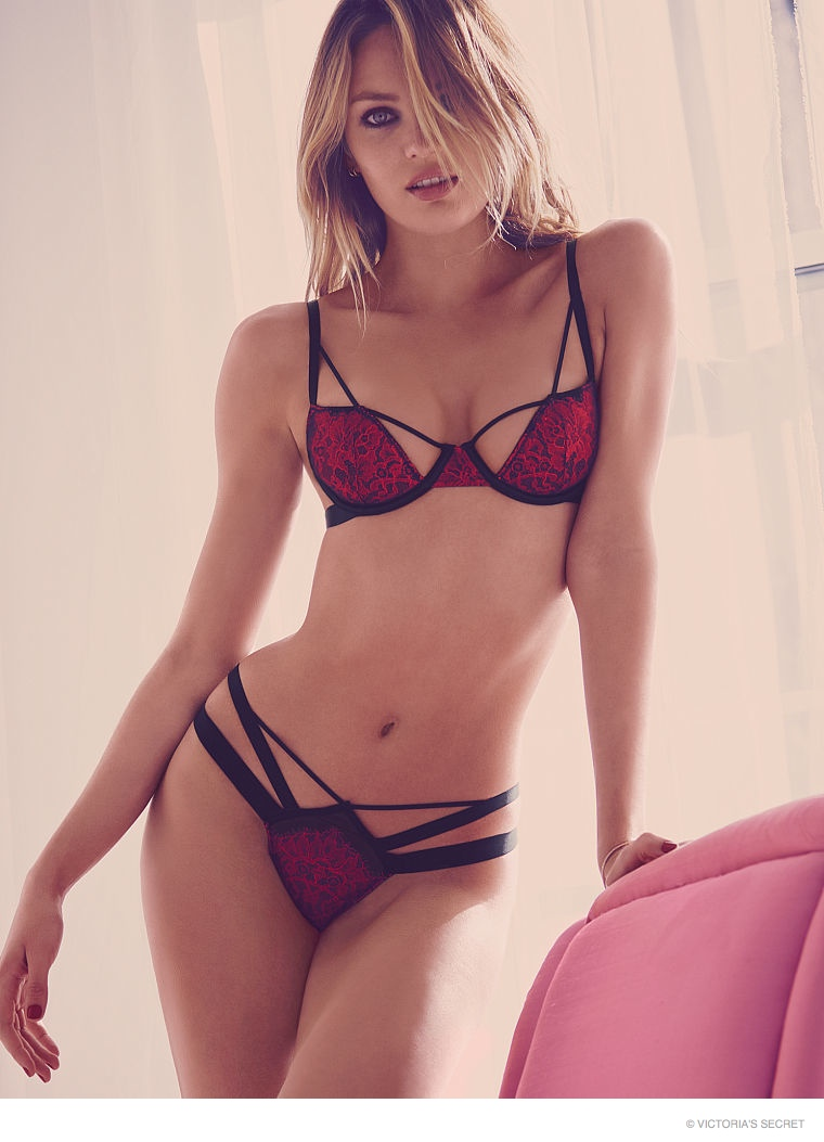 3789de68900f Candice Swanepoel is Red Hot in Victoria's Secret Valentine's Day ...