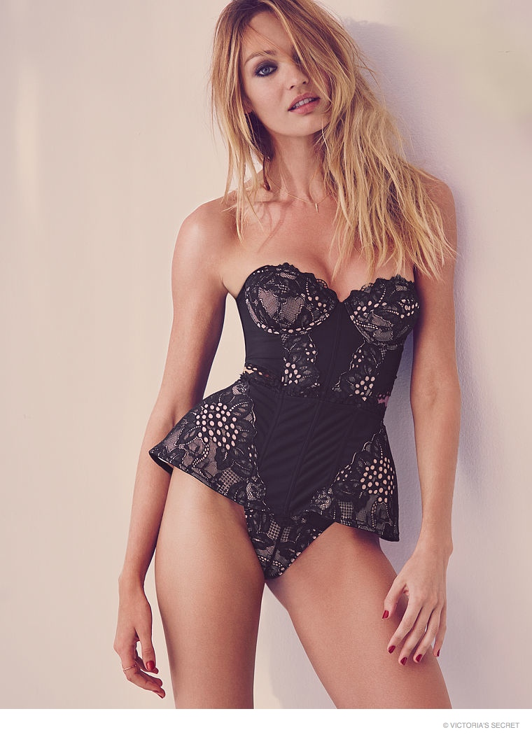 Candice Swanepoel is Red Hot in Victoria's Secret Valentine's Day ...