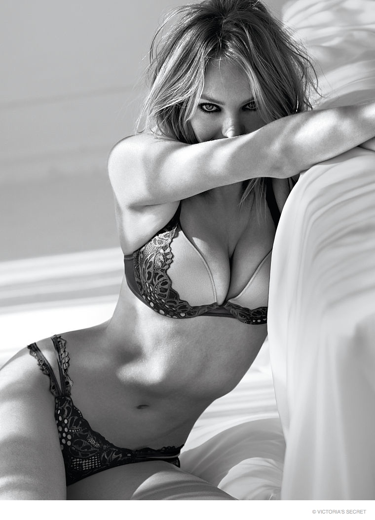 bd66d018c0e Candice Swanepoel is Red Hot in Victoria s Secret Valentine s Day ...