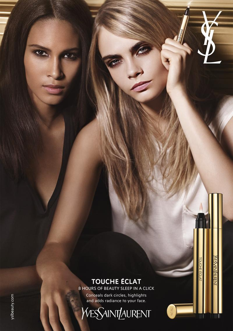 Cara Delevingne & Cindy Bruna for YSL Beauty