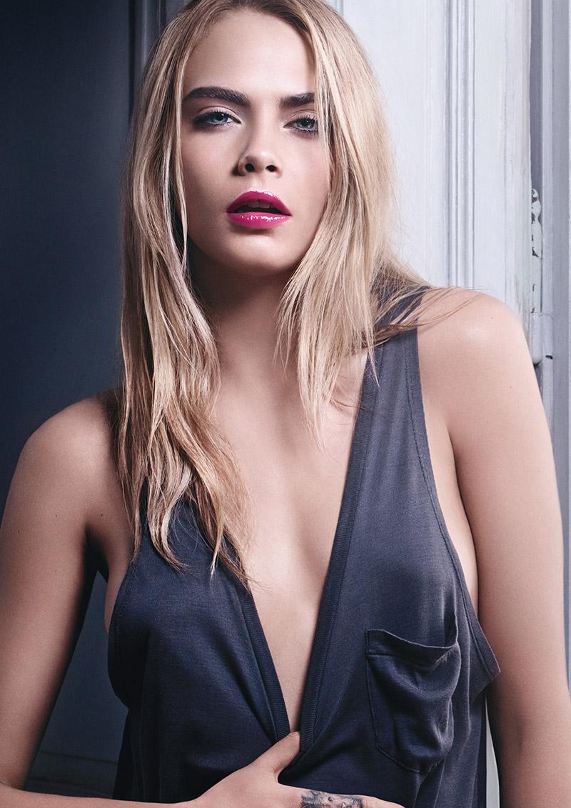 Cara Delevingne for YSL Beauty