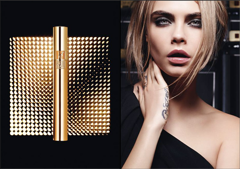 Cara Delevingne for YSL Beauty