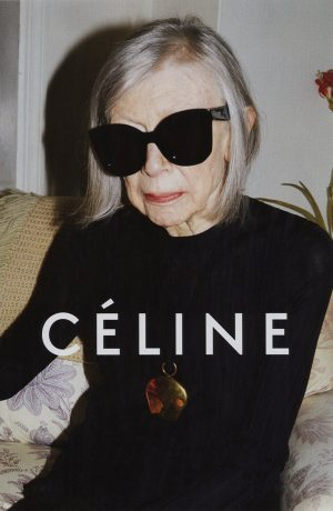 80 Year-Old Writer Joan Didion Stars in Celine's Spring 2015 Ads