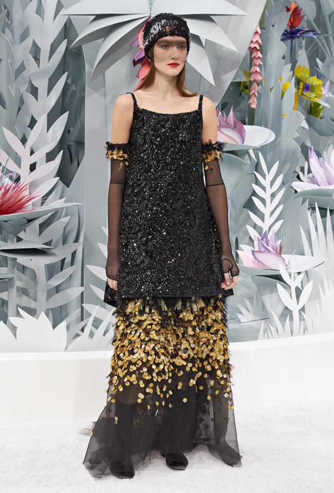 Chanel Throws A Garden Party For Spring 2015 Couture Show