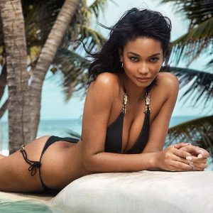 Chanel Iman Sports a Bikini on GQ South Africa Cover