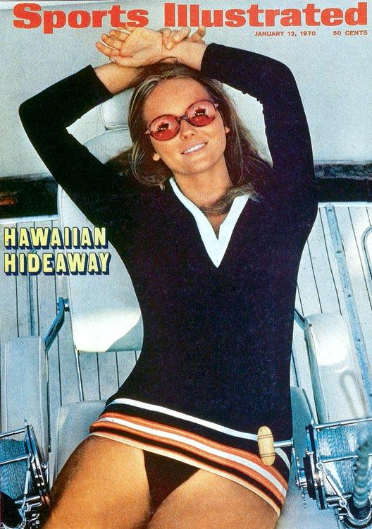 Cheryl Tiegs on Sports Illustrated Swimsuit Edition 1970 Cover