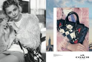 Chloe Grace Moretz Gets Her Closeup in Coach Dreamers Campaign