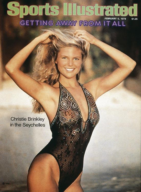 Christie Brinkley on Sports Illustrated Swimsuit Edition 1979 Cover