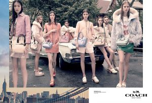 Coach Taps New Generation of Models for Spring 2015 Ads