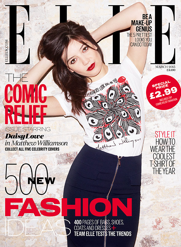 daisy-lowe-elle-red-nose-day-cover-2015