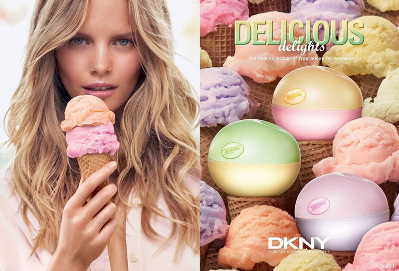 Sweet! Marloes Horst Stars in DKNY's 'Delicious Delights' Campaign