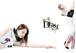 Dior Goes Topsy Turvy for Spring 2015  Ads