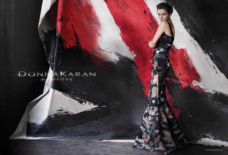Andreea Diaconu is the Face of Donna Karan's Spring 2015 Ads