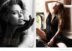 Doutzen Kroes Gets Sensual in 'Woman of the Year' Shoot for Glamour Netherlands