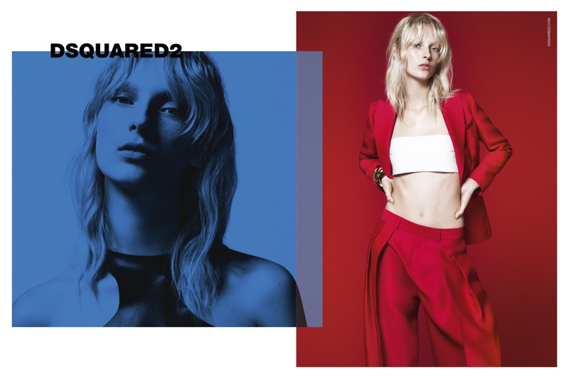 DSquared2 Gets Colorful for Spring 2015 Campaign