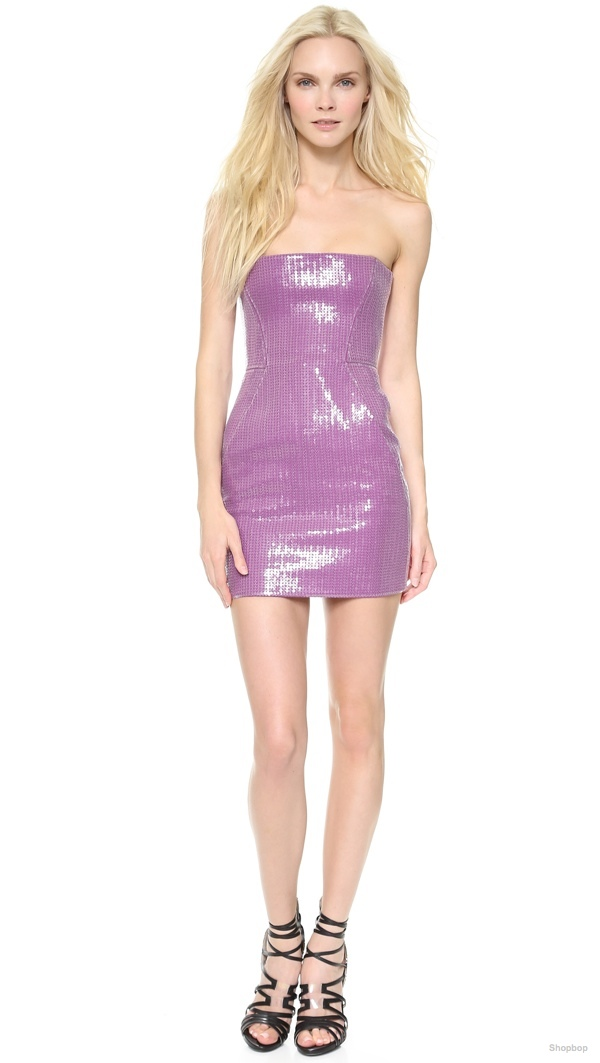 DSQUARED2 Strapless Sequin Dress available at Shopbop for $525.00