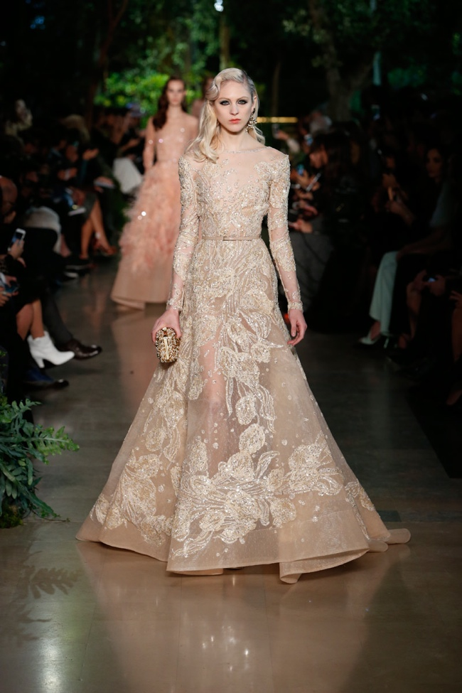 Elie saab spring 2015 haute couture dressed in nostalgia for 2015 haute couture