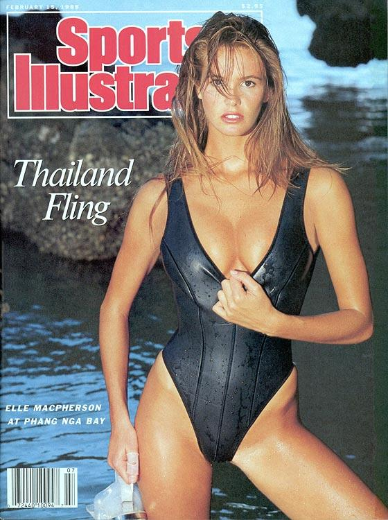 Elle Macpherson on Sports Illustrated Swimsuit Edition 1988 Cover
