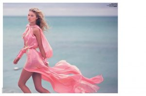 Elsa Hosk Strips Down for 'Hot Pink' Photo Shoot in Marie Claire Italy