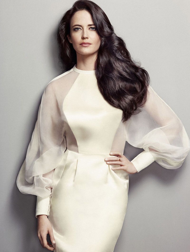 Actress Eva Green Named Face of L'Oreal Professionnel
