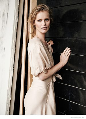 Eva Herzigova Wears Effortless Style for InStyle Czech by Benedikt Renc