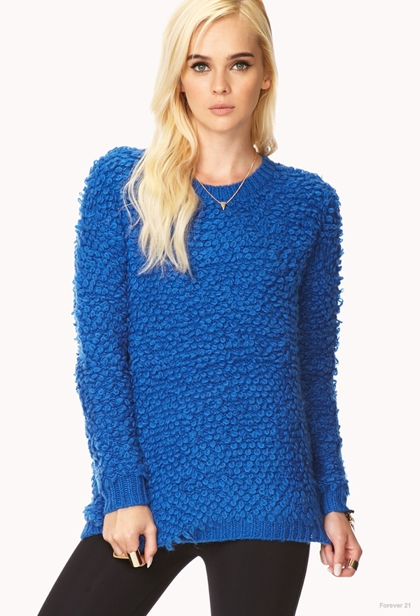 Forever 21 Groovy Shag Sweater