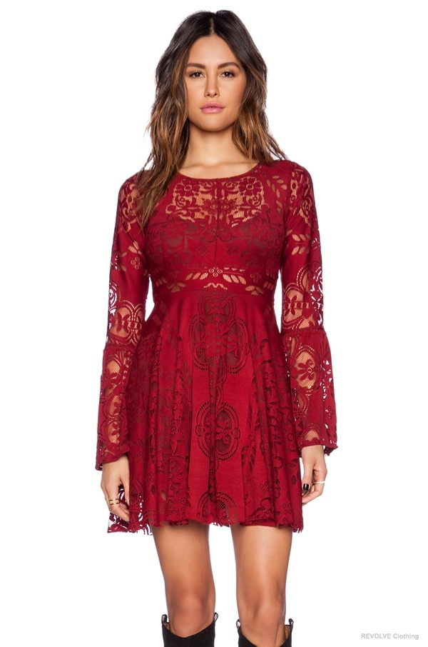 6 Lace Dresses To Wear On Valentine S Day 2015 Fashion