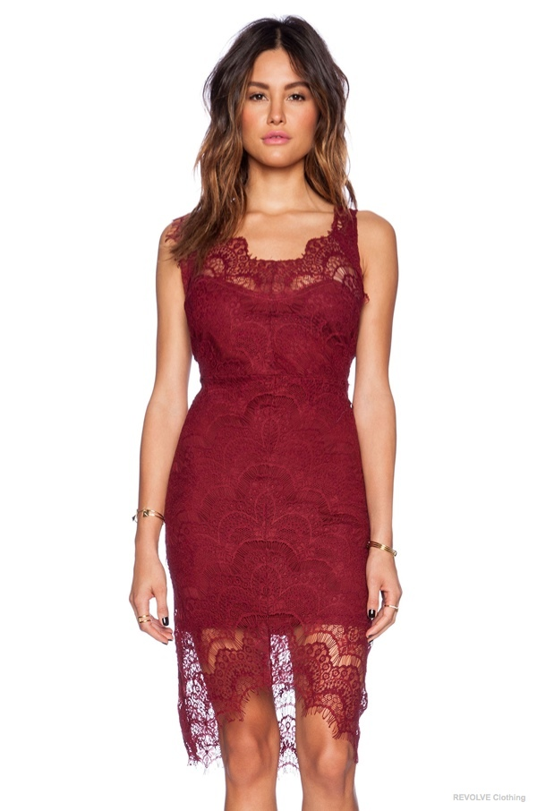 6 Lace Dresses to Wear on Valentine's Day