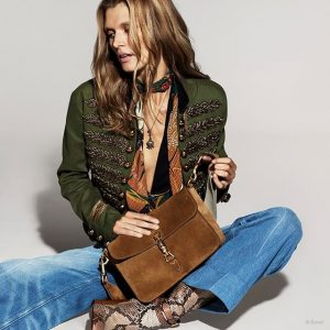 Gucci Previews Spring 2015 Ads with Malgosia Bela