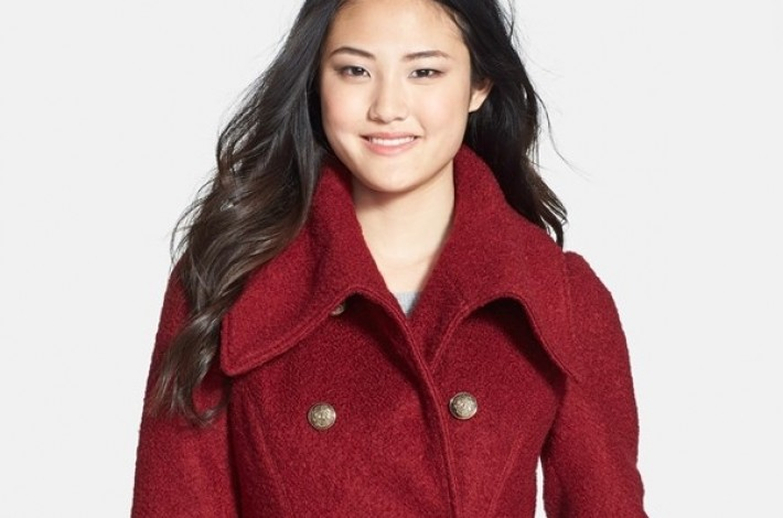 guess-double-breasted-boucle-coat