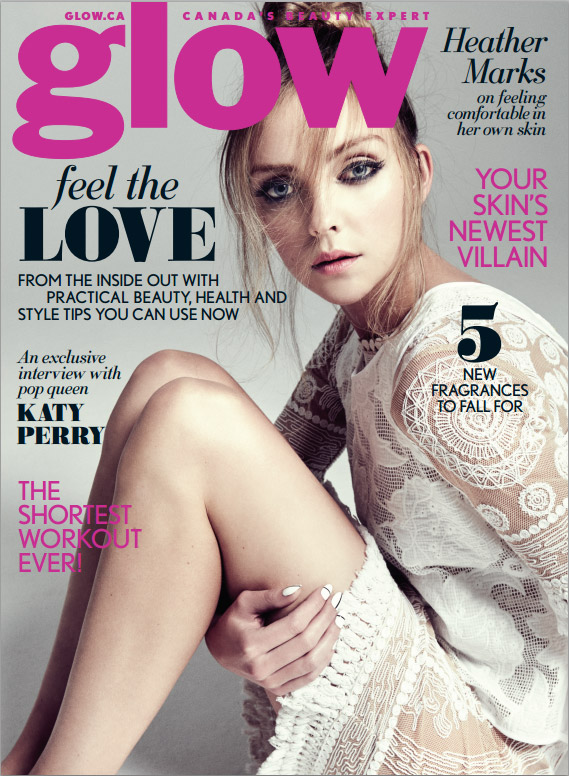 heather-marks-glow-canada-february-2015-cover