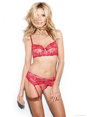 Heidi Poses for Heidi Klum Intimates, See the Sexy Photos!