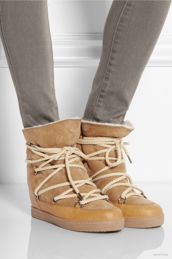 5 shearling lined boots that are not uggs. Black Bedroom Furniture Sets. Home Design Ideas