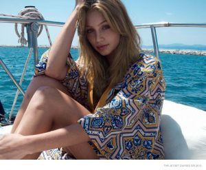 Cailin Russo Gets Glam in The Jetset Diaries' Spring 2015 Collection