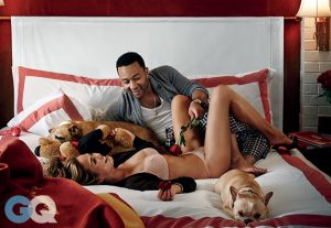 Chrissy Teigen Joins Husband John Legend for Sexy GQ Shoot