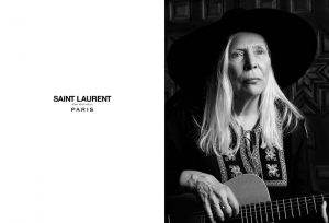Joni Mitchell Appears in Saint Laurent's 2015 Music Project