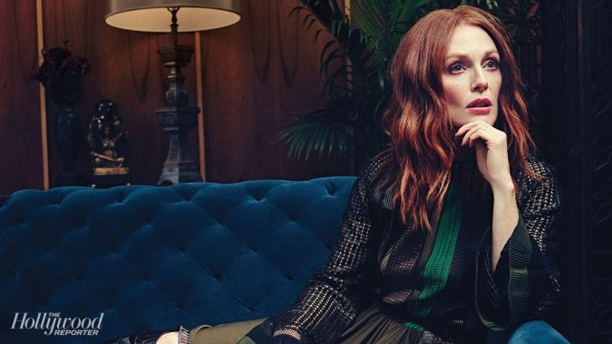 Julianne Moore Stars in The Hollywood Reporter, Explains Why She Doesn't Believe in God