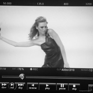 Karlie Kloss is a Glamorous Vixen for Upcoming L'Oreal Paris Shoot