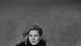 Kate Moss goes unretouched in photo for Vogue Italia by Peter Lindbergh.