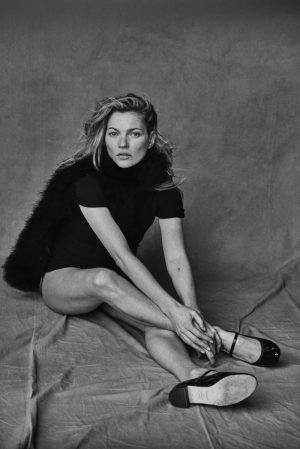 Kate Moss Goes Unretouched for New Black & White Photos