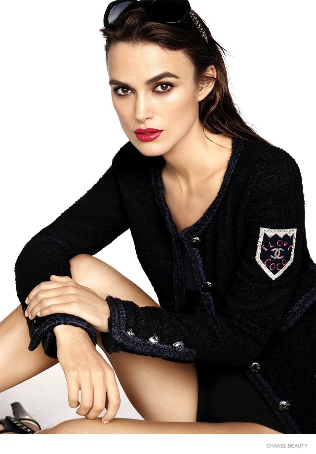 Keira Knightley Stars in Chanel Coco Rouge Lipstick Campaign