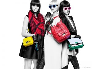Kendall Jenner Pops in Karl Lagerfeld's Spring 2015 Ad Campaign