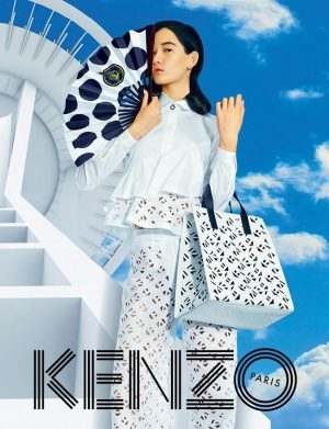 Kenzo Aims for the Clouds with Spring 2015 Campaign