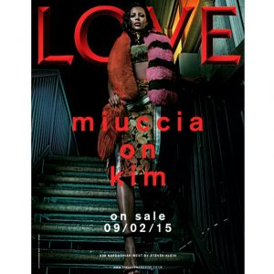 Kim Kardashian Wears Prada for LOVE Magazine Teaser