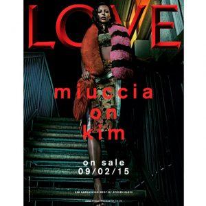 Kim Kardashian Wears Prada for LOVE Magazine Teaser