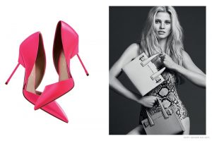 Lara Stone Stuns in Spring '15 Kurt Geiger Shoe Ads