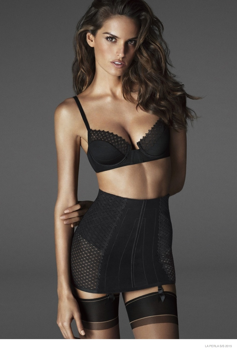 More Photos of La Perla Spring 2015 Campaign with Izabel, Sigrid & Ming