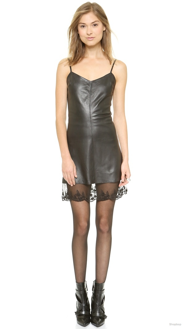 Love Leather 'The Slip' Dress available at Shopbop for $197.50