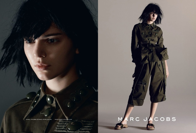 Kendall Jenner, Adriana Lima, Karlie Kloss Star in Marc Jacobs' Spring 2015 Ads