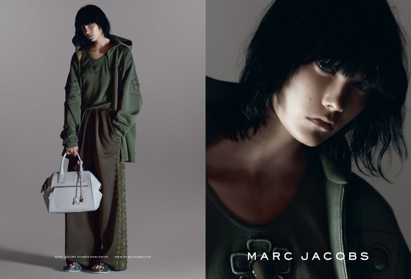 Karlie Kloss for Marc Jacobs Spring/Summer 2015 Campaign